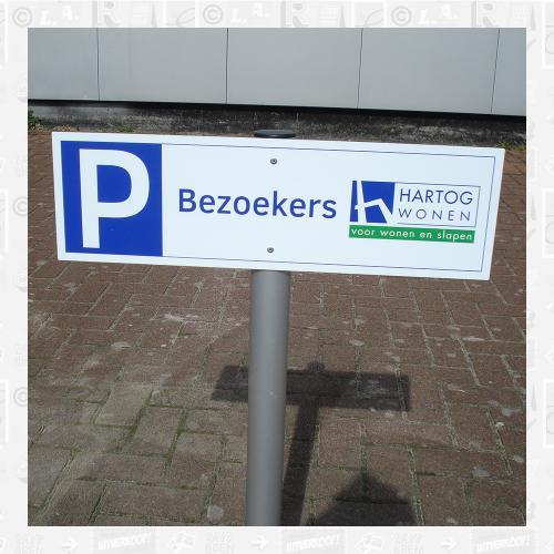 Parkeerplaats bord